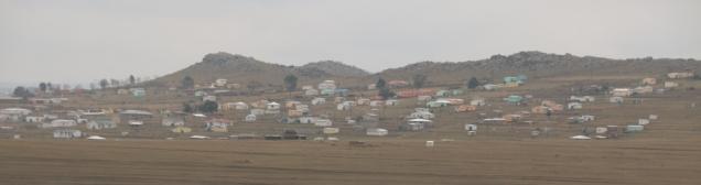 Dorf irgendwo im Süden von Südafrika.