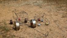 Typisches afrikanischer Spielzeug.