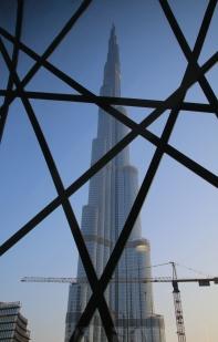 """""""Burj Khalifa"""", mit imposanten 828m das höchste Bauwerk der Welt - sehr beeindruckend!"""