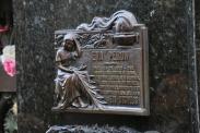 """Die wohl bekannteste Einwohnerin hier """"Evita""""."""