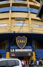 Hier spielte Maradona.