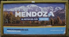 Mendoza, Weinregion am Fuße der Anden