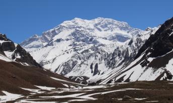 """Eines der beiden Ziele der Tour, der """"Aconcagua""""... fast 7.000m hoch!"""