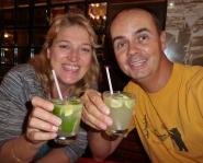 Was trinkt man in Rio mehr als Wasser? Caipirinha!
