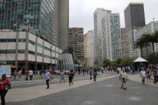Innenstadt von Rio, hier eher eine schlichte Ecke.