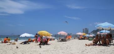 """Der legendäre """"Copacabana Beach"""" - in der Stadt unser zweitliebster Beach."""