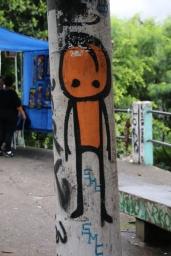 """Kunst in den """"Favelas"""", den Armenvierteln von Rio."""