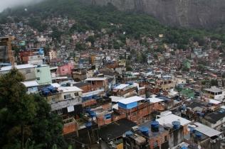 Favelas.