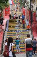 """Die """"Selarón Steps"""", sehr schön!"""