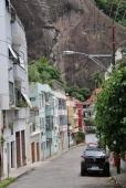 Straßenzug in Rio.