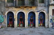 Auch in Salvador zu finden: Street-Art