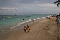 Beach von Porto de Galinhas - sieht nett aus, ist es im Grunde auch.