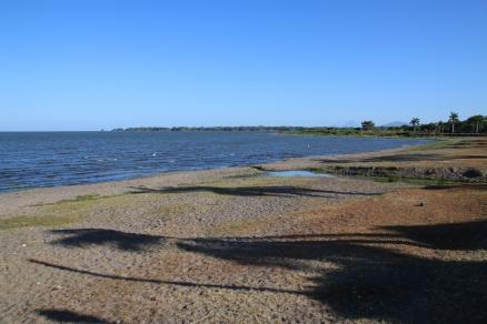 Der Lake Nicaragua (um die Ecke fließt die Kloake rein in den See - wir sind schockiert!)