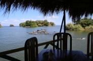 Mittagessen auf dem See, auf einer der zahlreichen kleinen Inseln