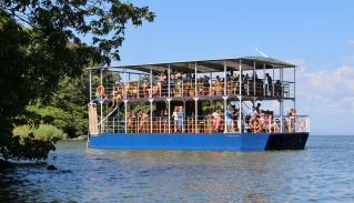 Party-Boot - das war eigentlich ganz schön relaxt