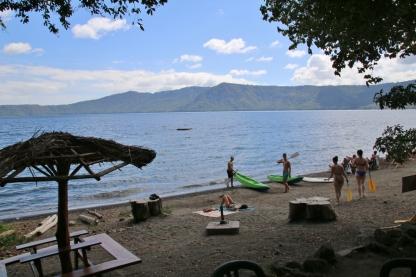 """Ein Tag an einem anderen See, der """"Laguna de Apoyo"""" - chillig!"""