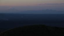Blick in die Ferne (auch dort wieder Vulkane, Vulkane, Vulkane - heißes Pflaster hier!)