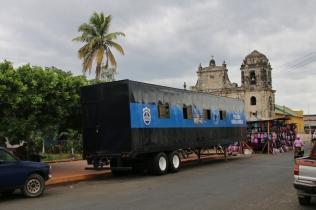 Das war allerdings die einzige Polizeipräsenz, die wir in Leon, der zweitgrößten Stadt in Nicaragua, gesehen haben. Fühlte sich alles recht sicher an.