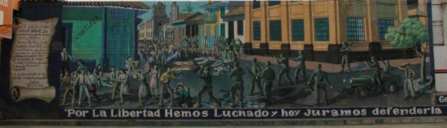 """Es geht viel um """"La Revolution"""", und die ist noch keine 45 Jahr her..."""