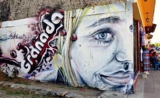 Etwas Street Art in den Straßen von Granada