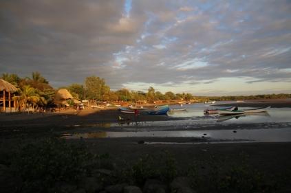 Der Fischer-Hafen von Las Penitas
