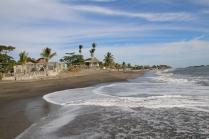 Der Strand von Las Penitas - es ist Hochsaison...!