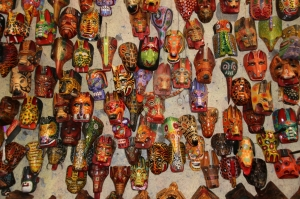Masken - ein Kulturgut in Guatemala
