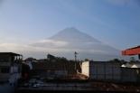 """der """"Volcana Agua"""" - Blick von der Terrasse unseres Hotels"""