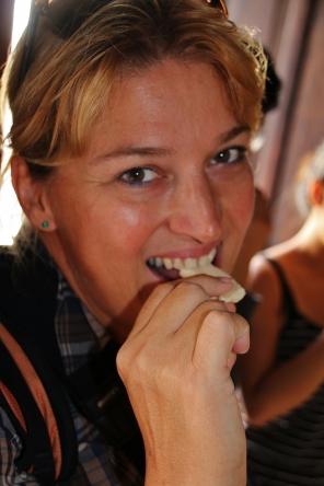 lecker, Schokolade, ein beliebtes und liebevoll hergestelltes Produkt in Guatemala