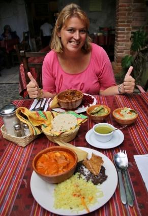 Guatemalesisches Mittagessen, mmmhhh