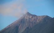 """der """"Fuego"""" - Blick von der Terrasse unseres Hotels"""