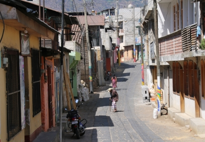 San Pedro (ein bekanntes Hippie- und Backpacker-Dorf)