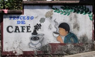 """überall ein Thema, der """"Kaffee"""""""