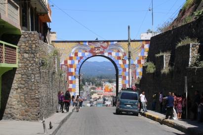 Torbogen in Chichicastenango