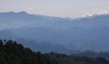 Guatemala, sehr bergiges und grünes Land