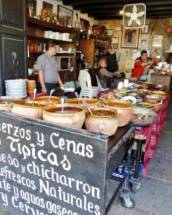 """das nenne ich mal """"lokale guatemaltekische Küche""""!"""