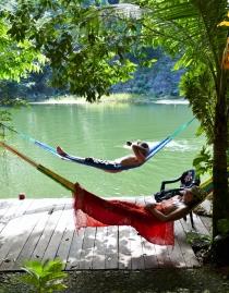 """Unsere """"Finca"""" bietet gute Möglichkeiten zur Entspannung"""
