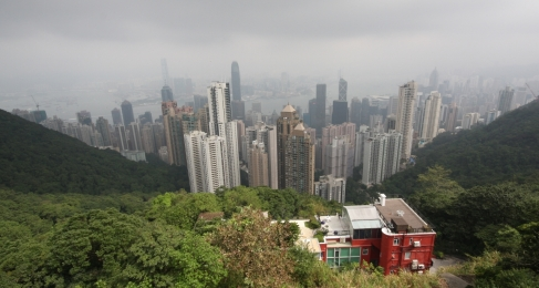 "Hongkong von der anderen Seite der Bucht (""Hongkong Island"")"