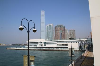 Hongkong Harbour mit International Commerce Centre